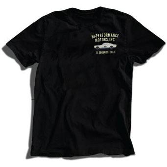 レーシングディビジョン HI-PERFORMANCE MOTORS.INC Tシャツ黒