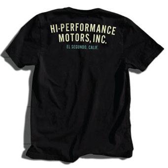 レーシングディビジョン HI-PERFORMANCE MOTORS.INC Tシャツ黒 01