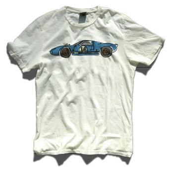 レーシングディビジョン ローラTシャツ白 GT40