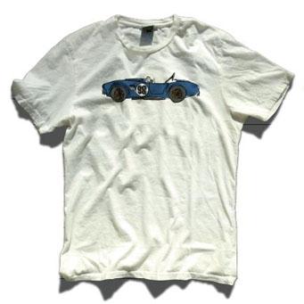 レーシングディビジョン ローラTシャツ白 コブラ