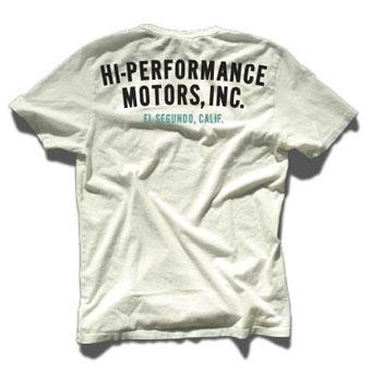レーシングディビジョン HI-PERFORMANCE MOTORS.INC Tシャツ白 01