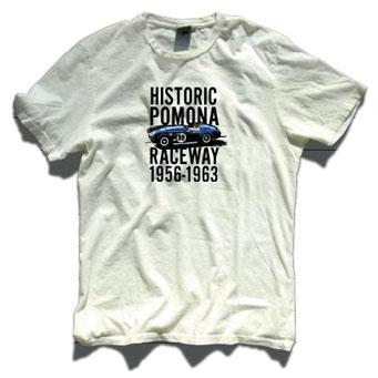 レーシングディビジョン HISTORIC POMONA Tシャツ白
