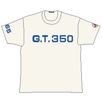 GT350 Tシャツ白